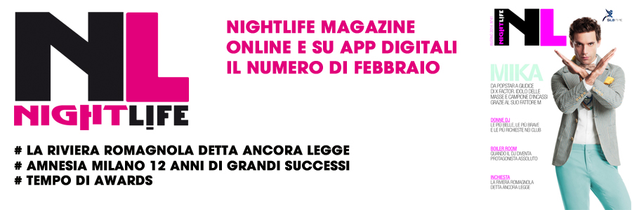 nighlife magazine febbraio 2014