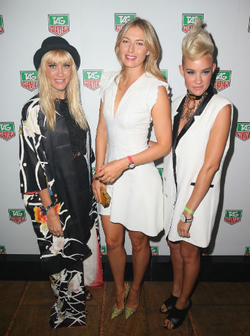 NERVO e Sharapova red carpet