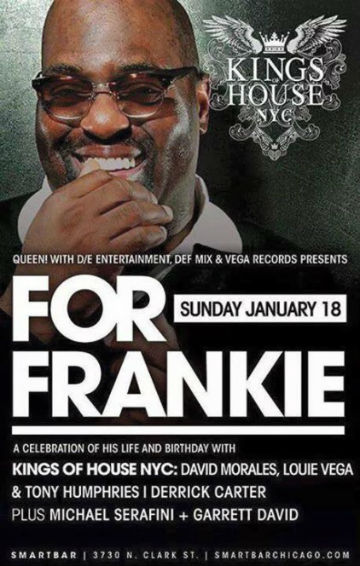 frankie knuckles celebration