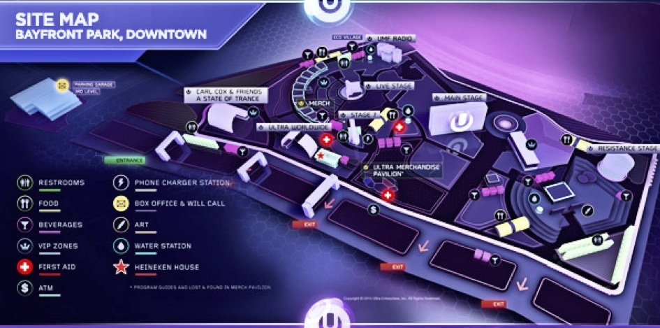 UMF site map