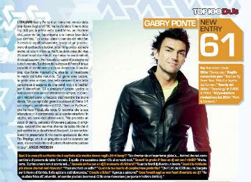 djmag top 100 2014 Gabry Ponte