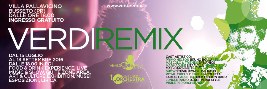 verdi remix estate 2016