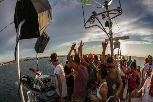 wave music boat vista mare