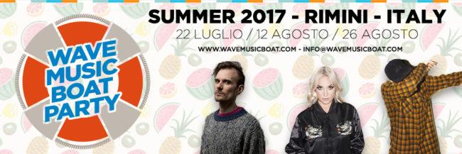 banner wave music boat lug 2017