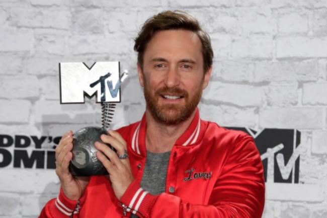 david guetta MTV EMA 2017