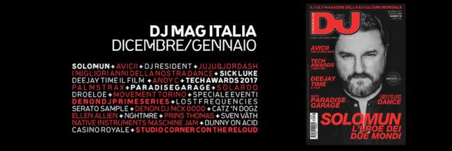 dj mag italia dic 2017