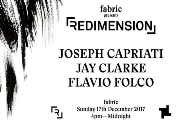 redimension showcase @ fabric 17.12.17