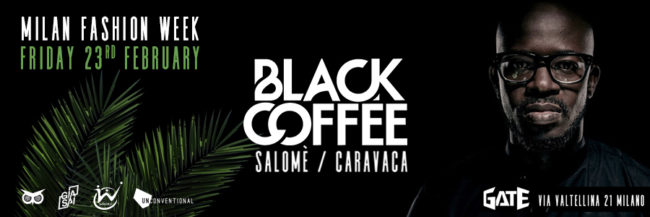black coffee @ gate milano 23.02.18