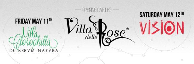 Villa delle Rose opening 2018