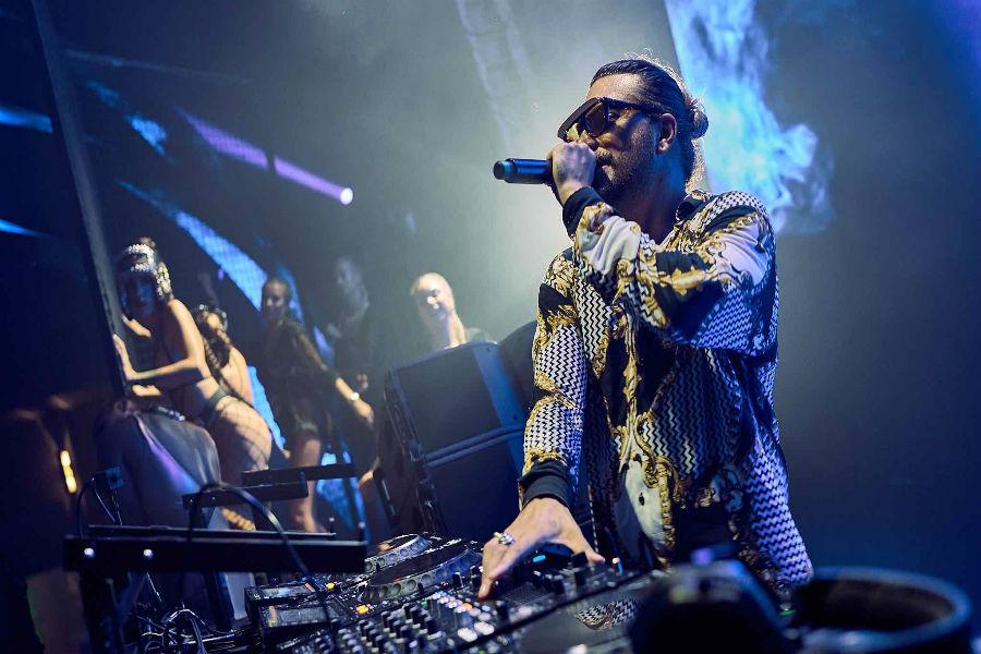 KAY dj set all'Omnia Nightclub di Las Vegas