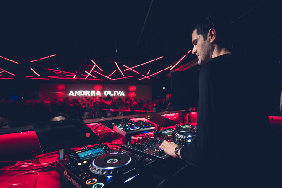 Andrea Oliva special guest all'Amnesia Milano