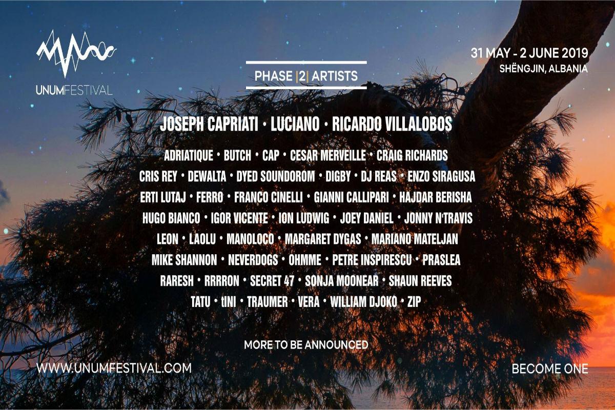 UNUM Festival annuncia nuovi artisti