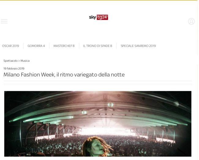Milano Fashion Week, il ritmo variegato della notte _ Sky TG24_cut
