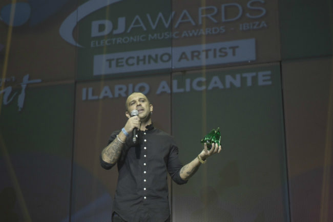 ilario alicante @ dj awards webres