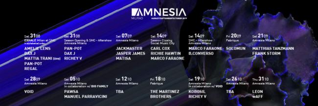amnesia set ott 2019