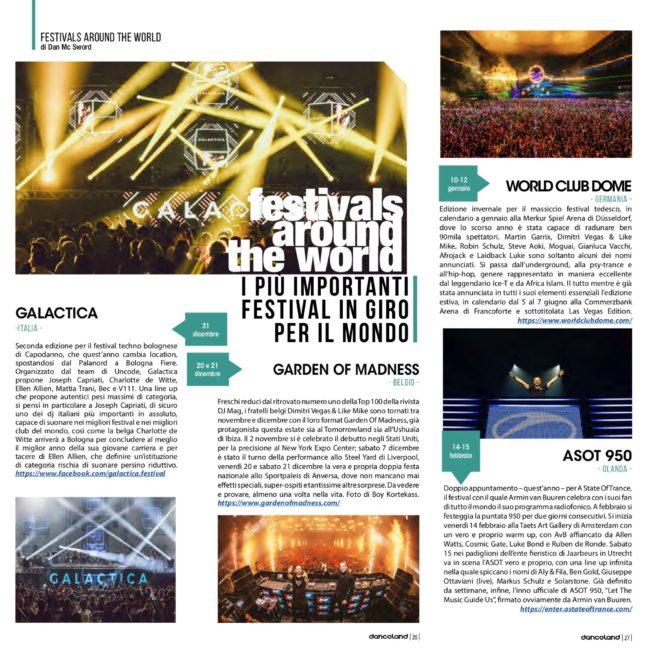 danceland dic 2019 festivals