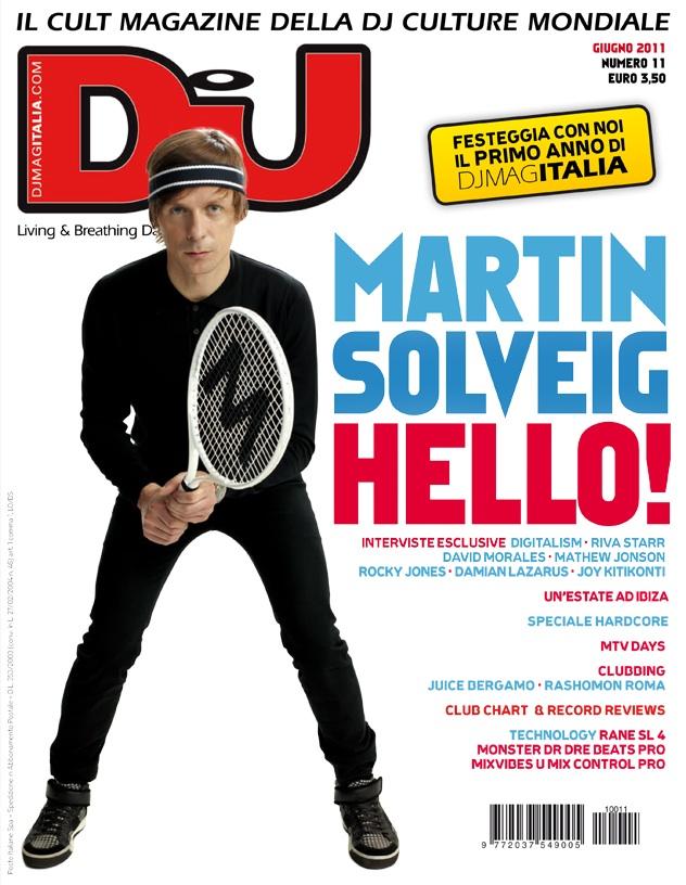 Dj Mag Italia Martin solveig