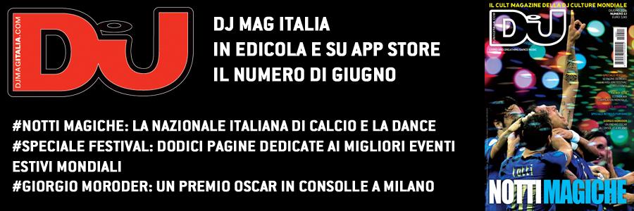 Dj Mag italia giugno